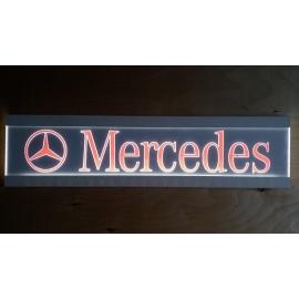 Frézált LED-es tábla MERCEDES