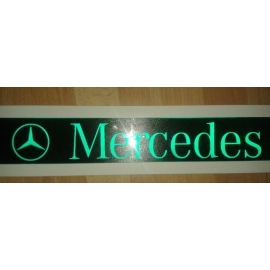 Gravírozott LED-es tábla MERCEDES