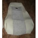 SCANIA bőr üléshuzat R 2004 UTÁN, 2 BIZT. ÖV, BASIC LÉGRUGÓS MINDKÉT ÜLÉS
