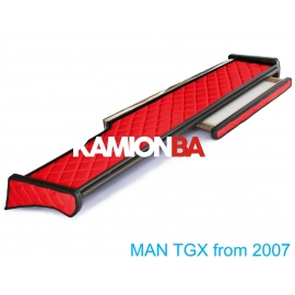 MAN műszerfalasztal TGX (közép+jobb)