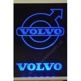 Gravírozott LED-es tábla VOLVO